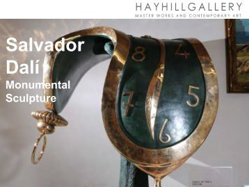 Salvador Dali Monumental Sculptures