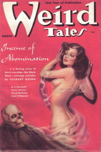 Weird Tales Magazine (3-1938)