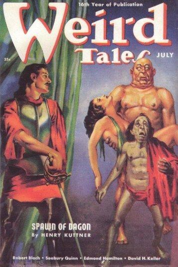 Weird Tales Magazine (7-1938)