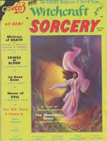 Witchcraft and Sorcery (1971)