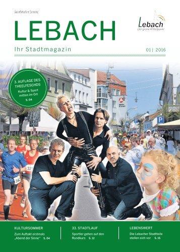 Stadtmagazin Lebach 01|2016