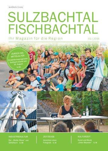 Gemeindemagazin Sulzbachtal-Fischbachtal 01|2016