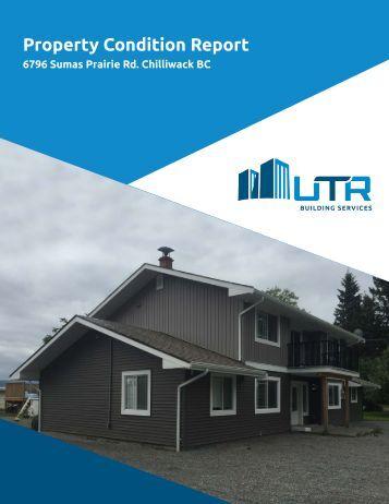 Property Condition Report - UTR