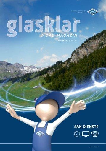 Glasklar Ausgabe August 2014