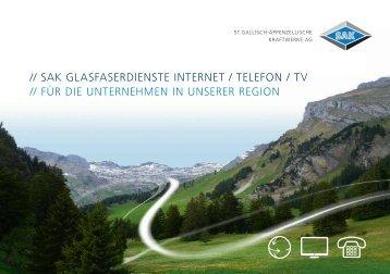 Glasfaser für die Region. Ausgabe für Unternehmen.