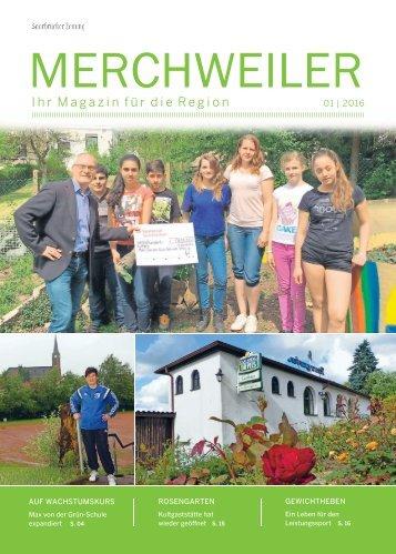 Gemeindemagazin Merchweiler 01|2016