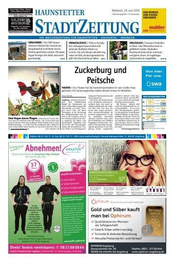 114 Augsburg - Haunstetten 29.06.2016
