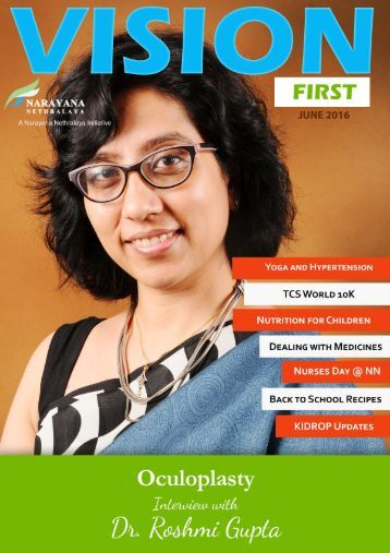 Vision First Online Magazine June 2016