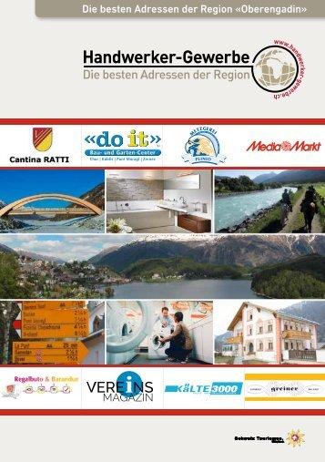Handwerker- und Gewerbeinfo Oberengadin Ausgabe 2