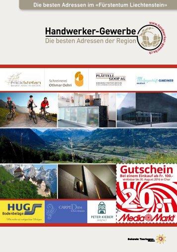 Handwerker und Gewerbeinfo Fürstentum Liechtenstein