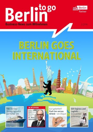 Berlin to go, Ausgabe 2.2016