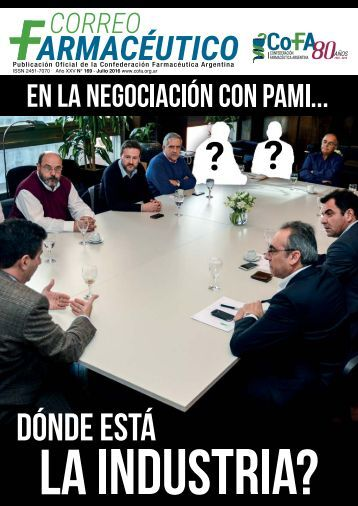 Publicación Oficial de la Confederación Farmacéutica Argentina
