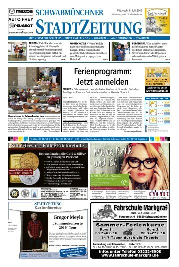 112 Schwabmünchen 06.07.2016