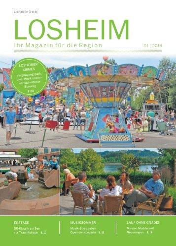Gemeindemagazin Losheim 01|2016