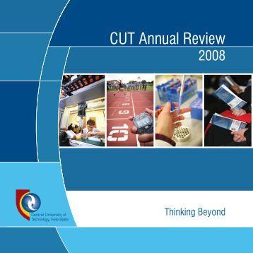 CUT Annual Report 2008