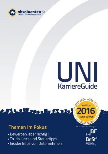 UNI KarriereGuide 2016