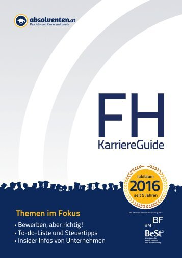 FH KarriereGuide 2016