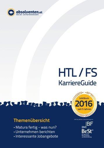 HTL/FS KarriereGuide 2016