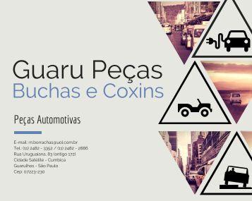 Catálogo GUARU PEÇAS - 2016