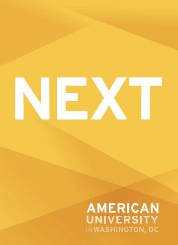 NEXT: Agility & Innovation