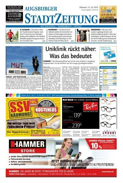104 Augsburg - Süd-Ost 13.07.2016