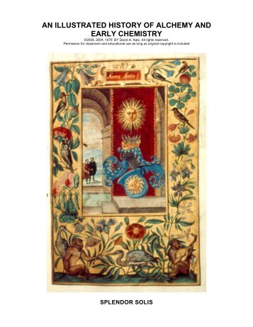 An Illustrated History of Alchemy