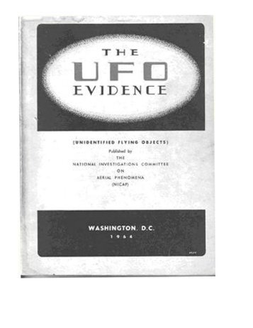 NICAP UFO Evidence 1964