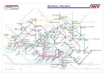 Metrobus-Linienplan