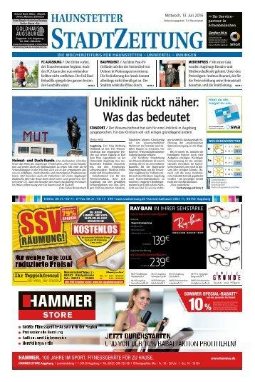 114 Augsburg - Haunstetten 13.07.2016