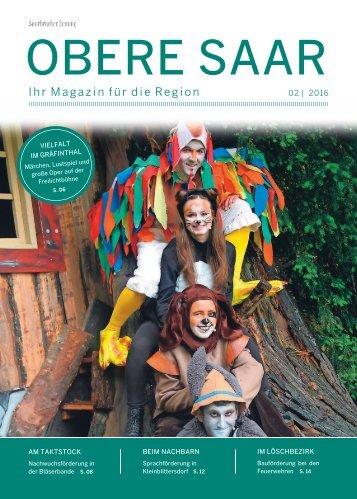 Gemeindemagazin Obere Saar 02|2016