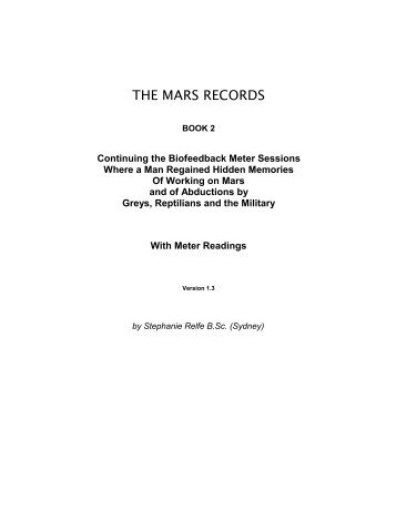 The Mars Records 2