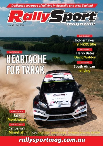 RallySport Magazine July 2016