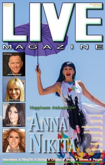 LIVE Magazine #239 July 22- August 5 2016