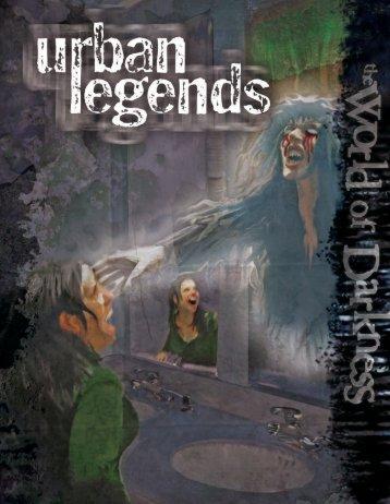 World of Darkness - Urban Legends