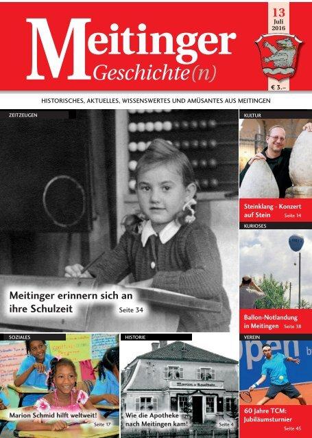 Meitinger Geschichte(n) - Juli 2016