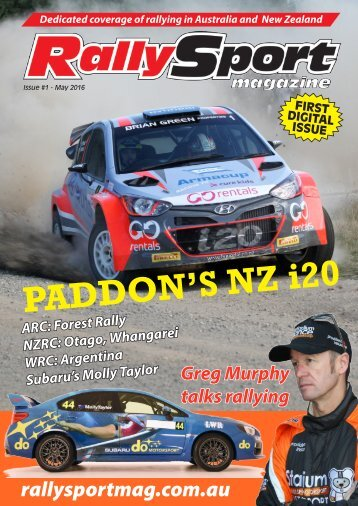 RallySport Magazine, May 2016