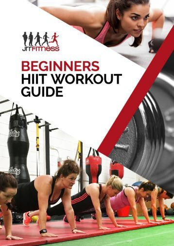Beginners HIIT Workout Guide.