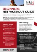 Beginners HIIT Workout Guide. - Page 2