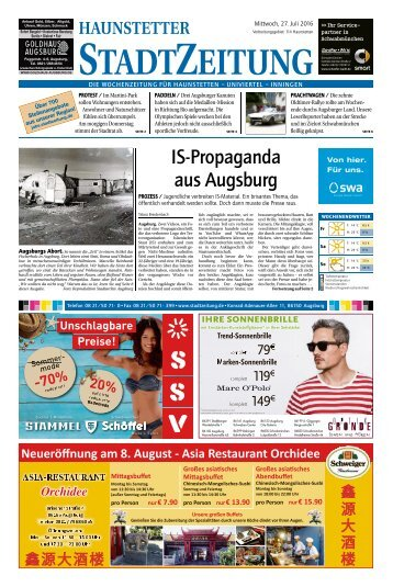 114 Augsburg - Haunstetten 27.07.2016