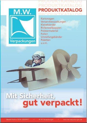 Katalog MW Verpackungen