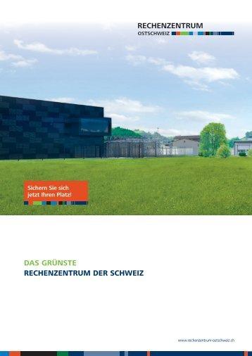 Übersicht Rechenzentrum Ostschweiz
