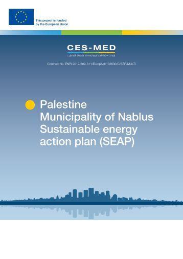 Palestine Municipality of Nablus Sustainable energy action plan (SEAP)
