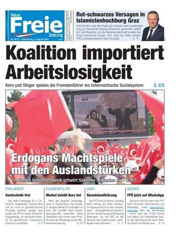 Koalition importiert Arbeitslosigkeit