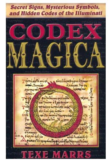 Codex-Magica: Secret Signs, Symbols, and Hidden Codes of the illuminati