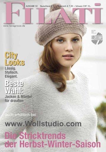 Filati Magazin 52 Lana Grossa - Wollstudio.com
