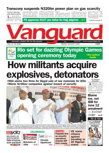 How militants acquire explosives, detonators