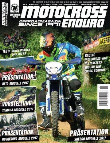 Motocross Enduro Ausgabe 9/2016