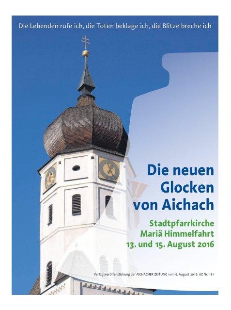 Glockenweihe Aichach