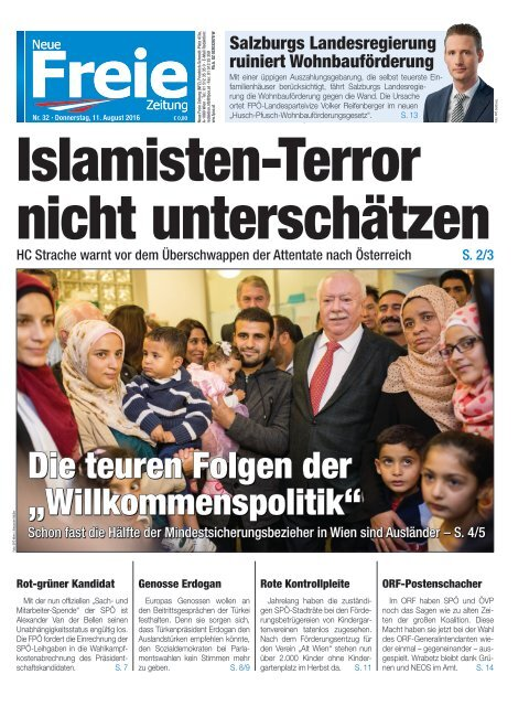 Islamisten-Terror nicht unterschätzen