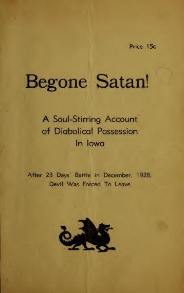 Begone Satan: An Exorcism in Iowa